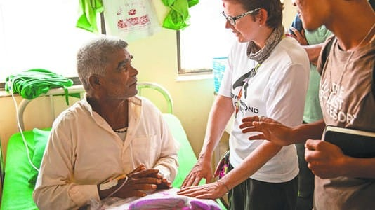 Cancer Survivor Inspires Patients in Nepal