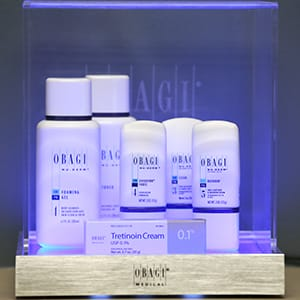 Obaji skincare products