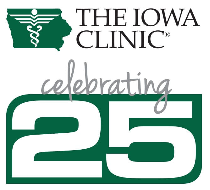 The Iowa Clinic Celebrating 25 years