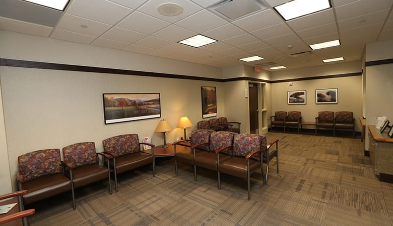 Endoscopy Center - waiting room